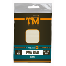 PROLOGIC TM PVA Solid Bullet Bag W/Tape 15pcs 55X120mm zsák zárószalaggal