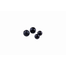 MADCAT RUBBER BEADS 10MM - 12PCS