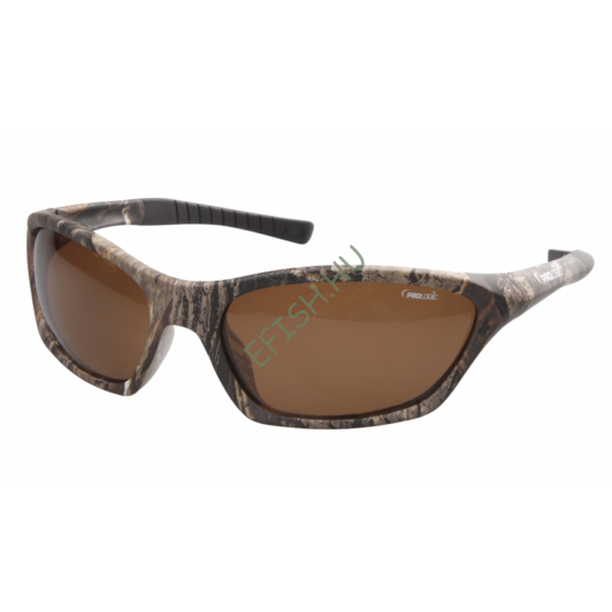 PROLOGIC MAX4 Carbon Polarized Sunglasses - Amber (Sun and Clouds)