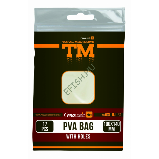 PROLOGIC TM PVA Bag W/Holes 17pcs 100X140mm