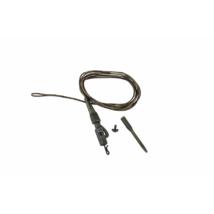 PROLOGIC Safetly Clip QC Swivel Hollow Leader 80cm 45lbs 3pcs