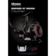 Okuma Ceymar XT Match CXTR-25RD 7+1bb HS inc. Alu spare spoo