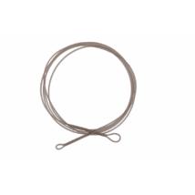 PROLOGIC LM Mirage Loop Leader 100cm 45lbs W/Ring Swivel 2pcs