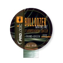 PROLOGIC Bulldozer FC Coated Mono Trans Green 1000m 18lbs 0.37mm FUORKARBON BEVONATOS MONOFIL ZSINÓR