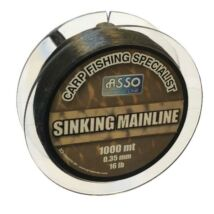 AMS30 ASSO CARP MAINLINE SINKING 1000M 0,30 Süllyedő pontyos főzsinór