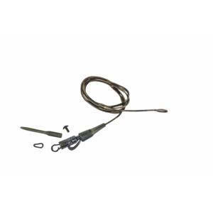 Prologic Safetly Clip QC Link Hollow Leader 80cm 45lbs 3pcs