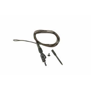 Prologic Safetly Clip QC Swivel Metal Core Leader 80cm 45lbs 3db előtétzsinór