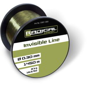 Ø0,30mm Radical Invisible Line 1450m 8,0kg,16,5lbs zöld