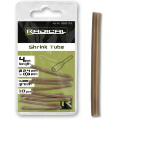 Radical Shrink Tube 2,4mm - 0,8mm camo-green 10darab