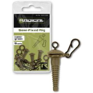 Radical Semi-Fixed Rig camo-green 5Set