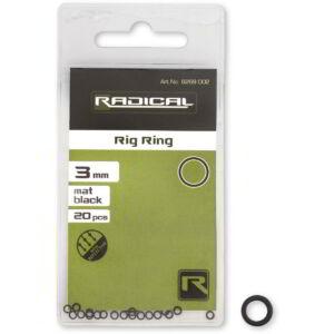 Radical Rig Ring mat black non reflective 20darab Ø3,1mm
