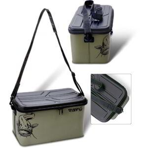 Black Cat Flex box/szerelékes táska-táska Carrier H: 40cm S: 24cm M: 25cm