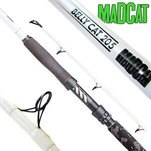 MAD CAT MADCAT WHITE BELLY CAT 205 - 2.05M 50-150G csónakos vertikál Mad Cat harcsázó bot