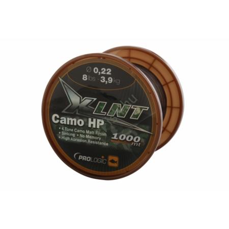 PROLOGIC XLNT HP 1000m 10lbs 4.8kg 0.25mm Camo pontyozó damil