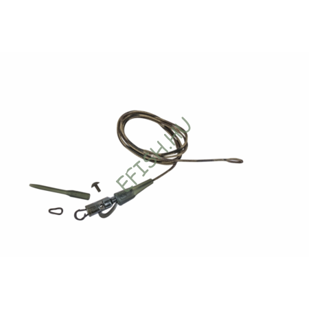 Prologic Safetly Clip QC Link Metal Core Leader 80cm 45lbs 3pcs