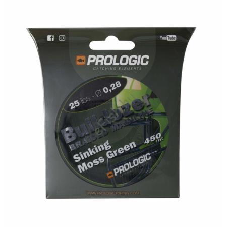 Prologic Bulldozer Braid 450m 25lbs 11.3kg 0.28 Moss Green