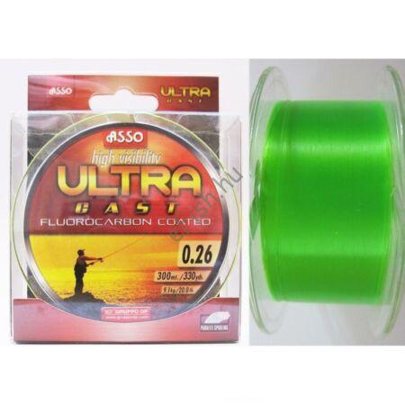 ASUC330 ASSO ULTRA CAST 300M 0,30 fluo zöld