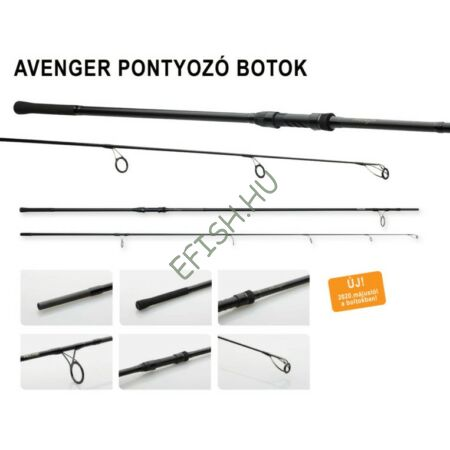Prologic C1 AVENGER 300cm-3.25lbs 2 részes pontyozó horgászbot