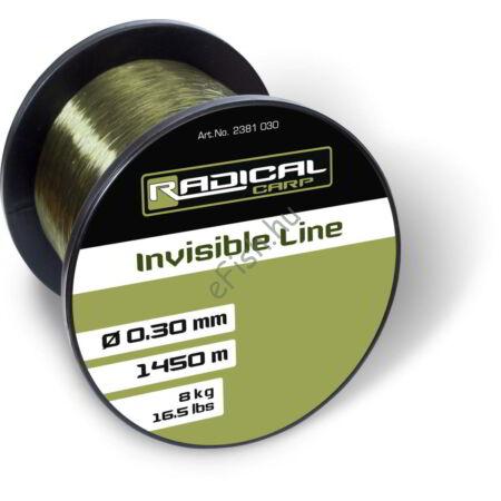 Ø0,40mm Radical Invisible Line 816m 10,8kg,23,8lbs zöld