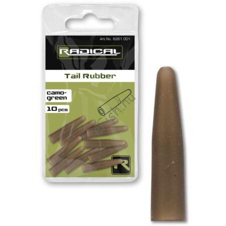 Radical Tail Rubber camo-green 10darab