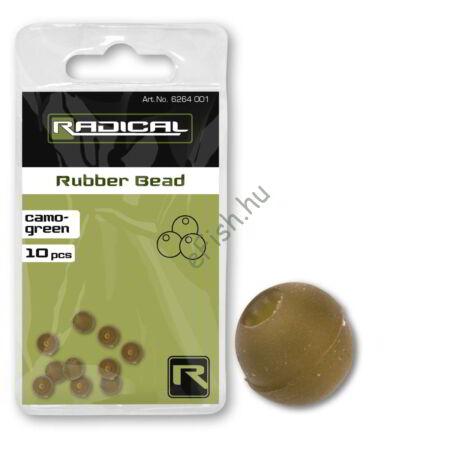 Radical Rubber Bead camo-green 10darab