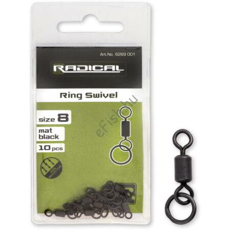 Radical Gyűrűs forgó mat black non reflective 10darab