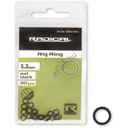 Radical Rig Ring mat black non reflective 20darab Ø5,3mm