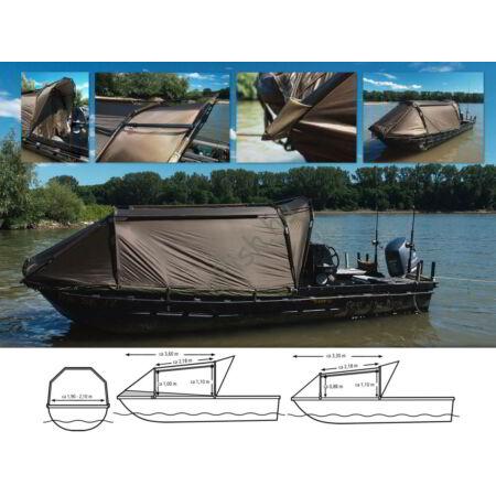 Black Cat Special Boat Cave II Csónak sátor