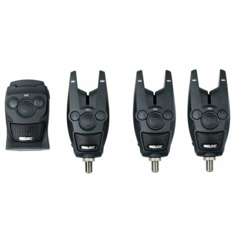 Prologic BAT+ Bite Alarm Set 3+1 többszínű elektromos kapásjelző szett