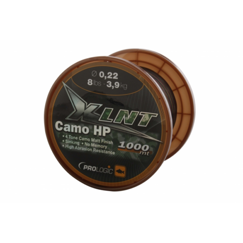 PROLOGIC XLNT HP 1000m 8lbs 3.9kg 0.22mm Camo