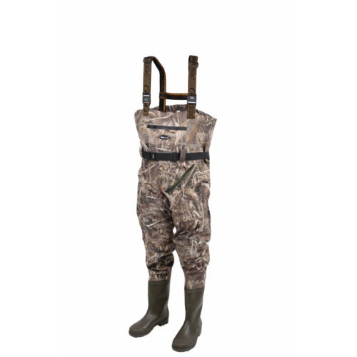 Prologic Max5 Nylo-Stretch Chest Wader w/Cleated 42/43 - 7.5/8
