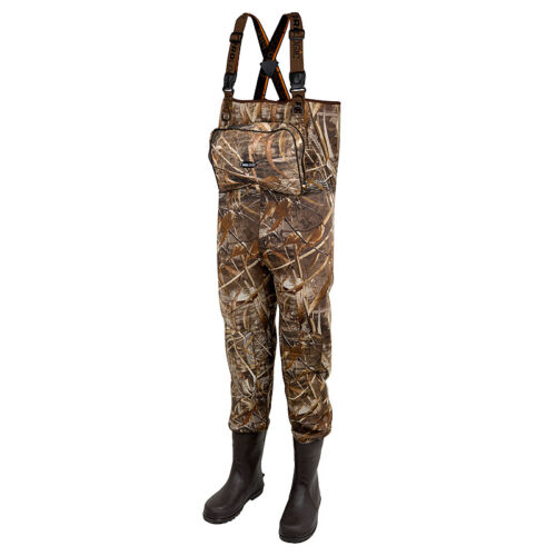 Prologic Max5 XPO Neoprene Waders Boot Foot Cleated 42/43 - 7.5/8
