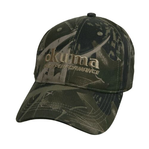 Okuma Full Back Camouflage Hat