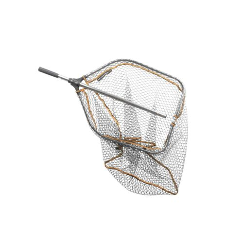 SAVAGE GEAR Pro Folding Rubber Large Mesh Landing Net L (65x50cm)