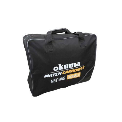 Okuma Match Carbonite Net Bag Double (60x48x20cm)