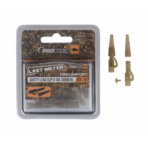 Prologic LM Mimicry Safetly Leadclip & Tailrubber 10pcs