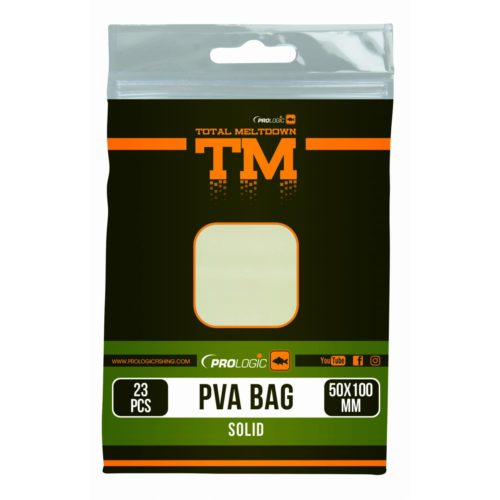 Prologic TM PVA Solid Bag 23pcs 50X100mm