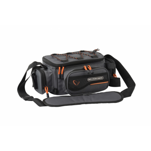SAVAGE GEAR System Box Bag S 3 Boxes & PP Bags (15x36x23cm)