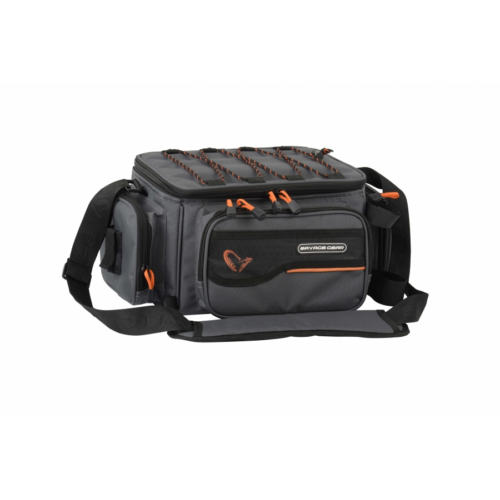 SAVAGE GEAR System Box Bag M 3 boxes & PP Bags (20x40x29cm)