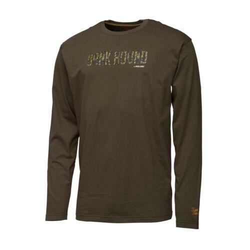 Prologic Bank Bound Camo T-shirt Long Sleeve L