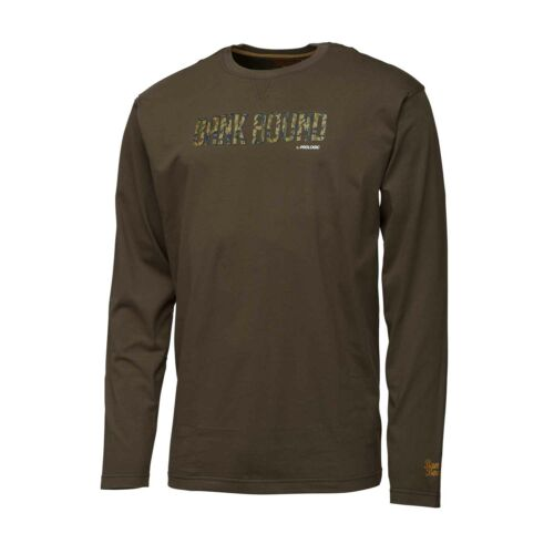 Prologic Bank Bound Camo T-shirt Long Sleeve M