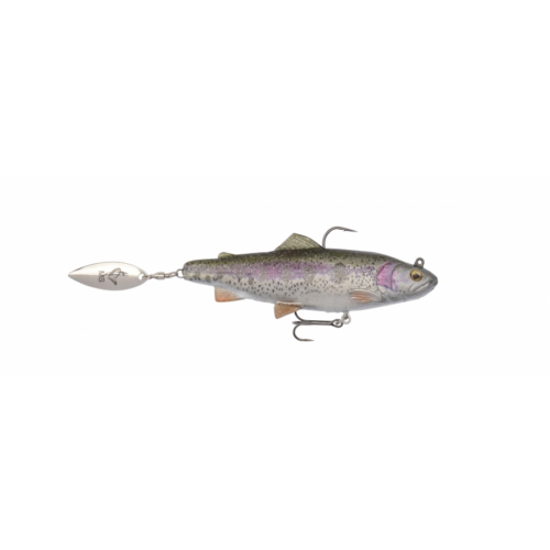 SAVAGE GEAR 4D Trout Spin Shad 11cm 40g MS 01-Rainbow Trout