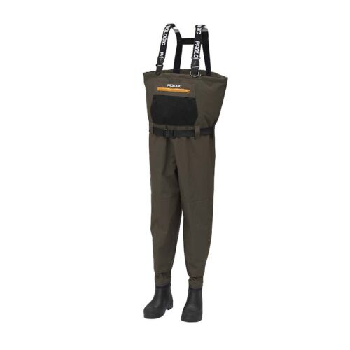 Prologic LitePro Breathable Wader w/EVA Boot Cleated 42/43 - 7.5/8