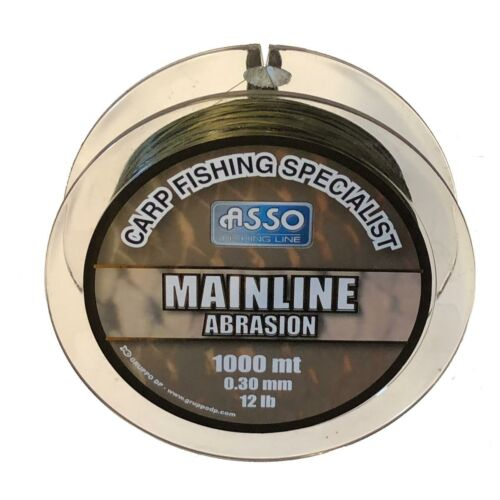 AMAG30 ASSO CARP MAINLINE ABRASION 1000M 0,30CAM.