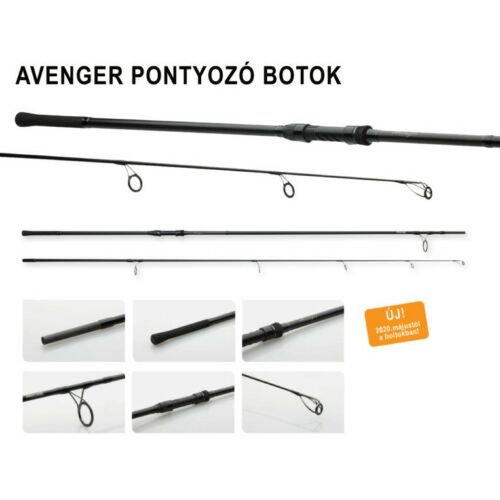 Prologic C1 AVENGER 360cm-3.75 lbs 2 részes pontyozó horgászbot