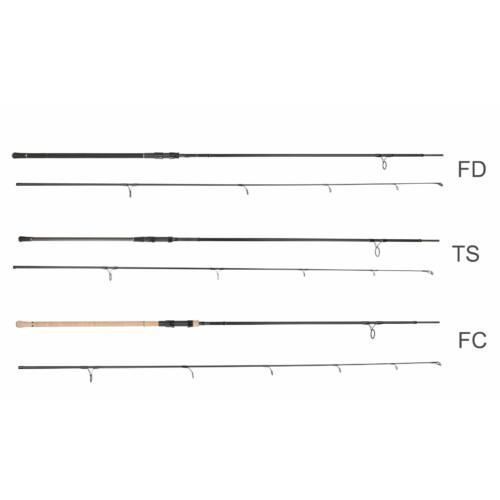 PROLOGIC C2 Natura TS 10' 300cm 3.25lbs - 2 részes bojlis horgászbot, osztott nyél