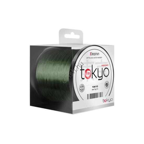Monofil Delphin TOKYO zöld-0,309mm 16lbs 300m Damil