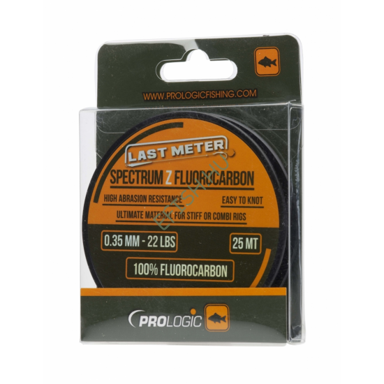 Prologic Spectrum Z Fluorocarbon 25m 0.35mm 22lbs