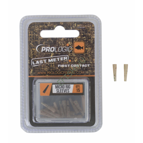 PROLOGIC LM Mimicry Micro Rig Sleeves 15pcs