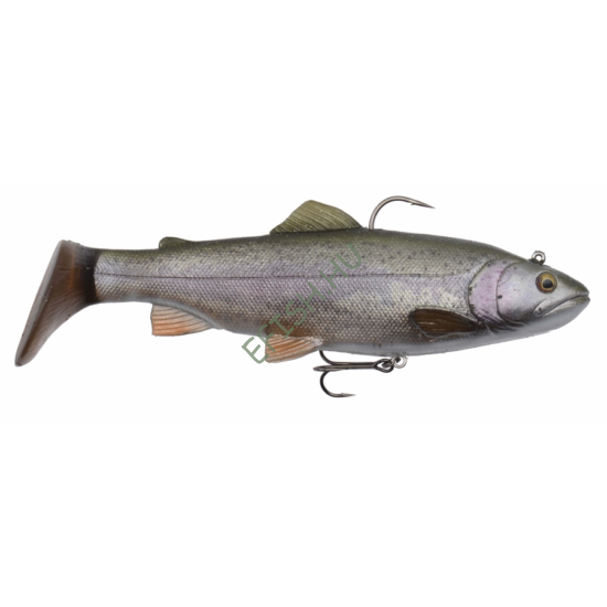 SAVAGE GEAR 4D Trout Rattle Shad 12.5cm 35g 01-Rainbow Trout